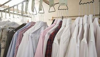 干洗店的衣服