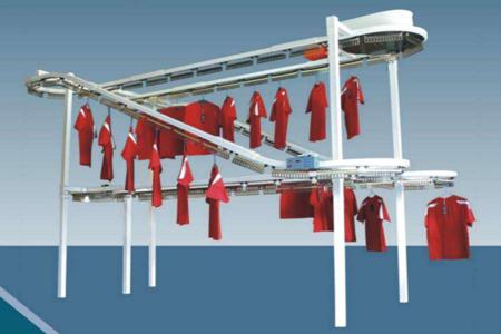大型干洗店衣物输送线