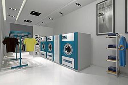 高档干洗店内部图设备展示