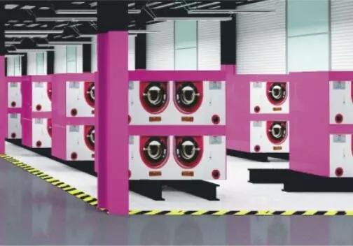 伊蔻洗衣的机器研发工厂