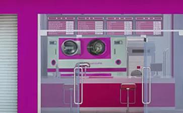 干洗店大型干洗设备图
